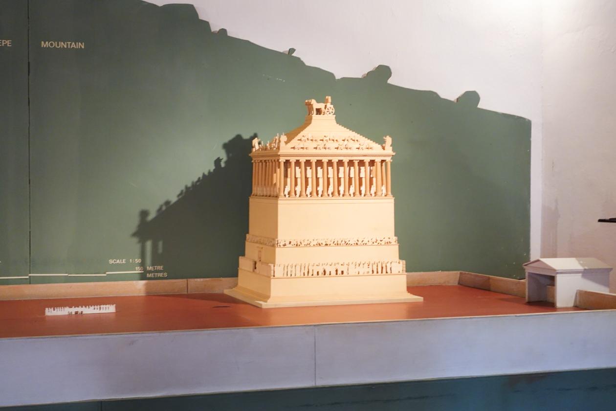 bodrum-1330-mausoleum-schaalmodel