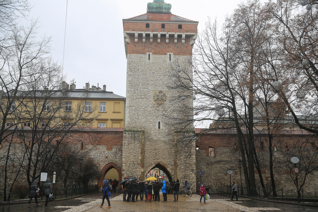 krakau-1400-oude-stadsmuur