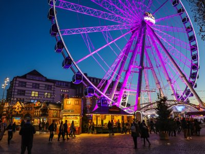 Een dagje naar de Duitse stad Düsseldorf tijdens de kerstmarkt