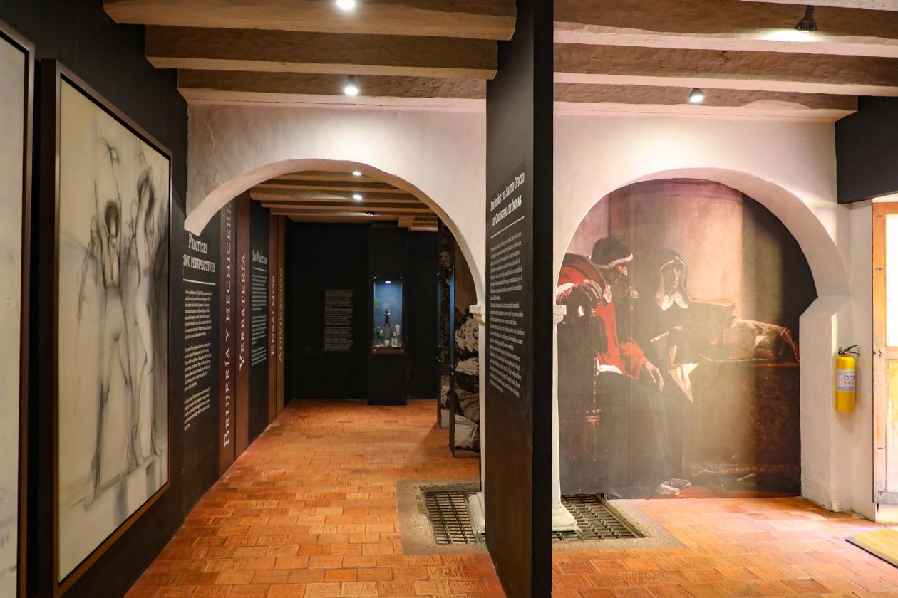 expositie in het Museo Histórico de Cartagena