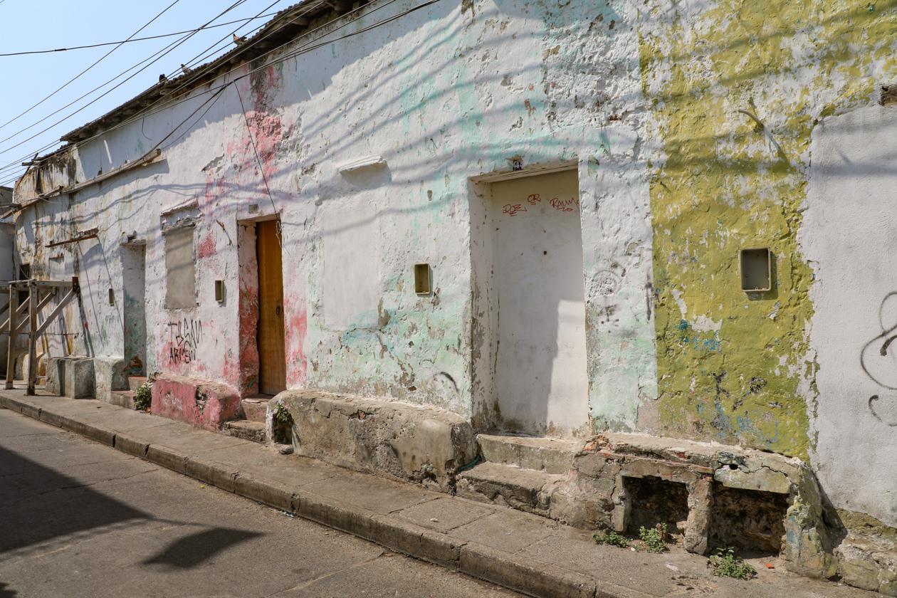 Sommige huizen zijn zelfs in echt slechte staat.