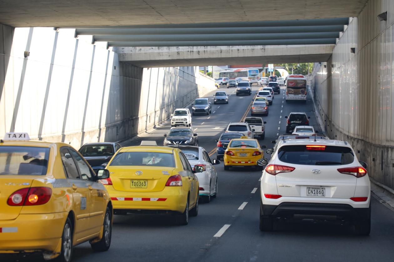het verkeer van Panama City