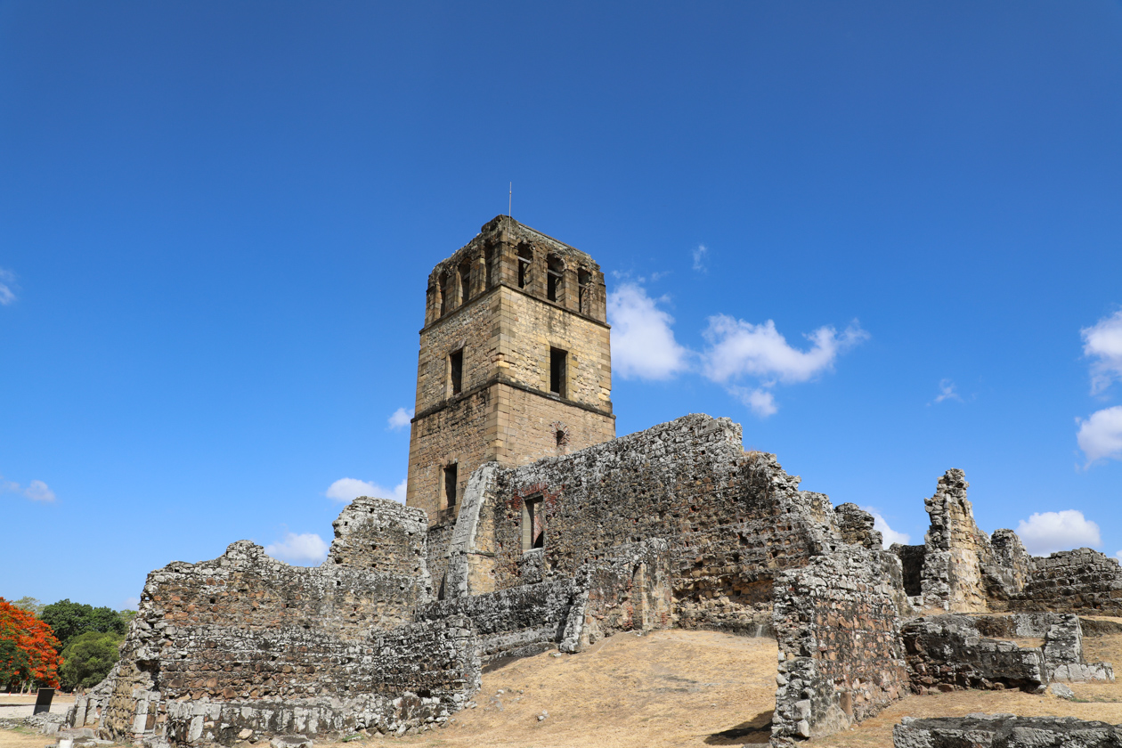 toren in Panama Viejo