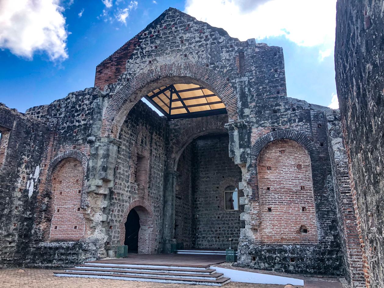 Panama Viejo kathedraal