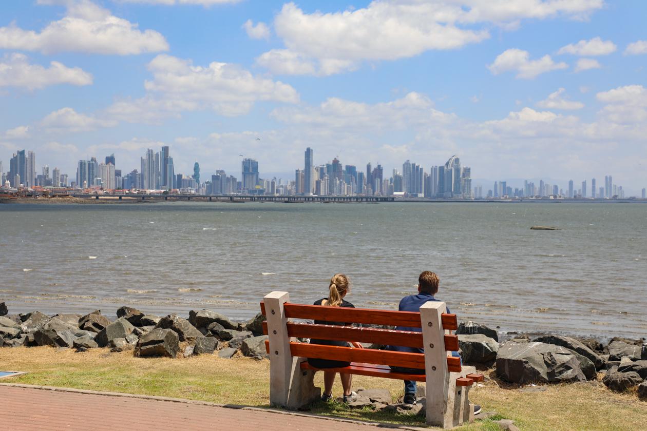 skyline van de stad
