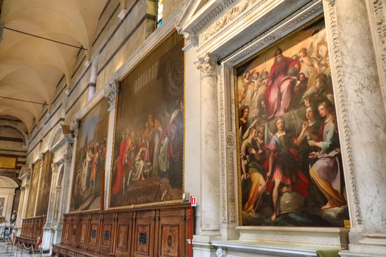 enorme schilderijen