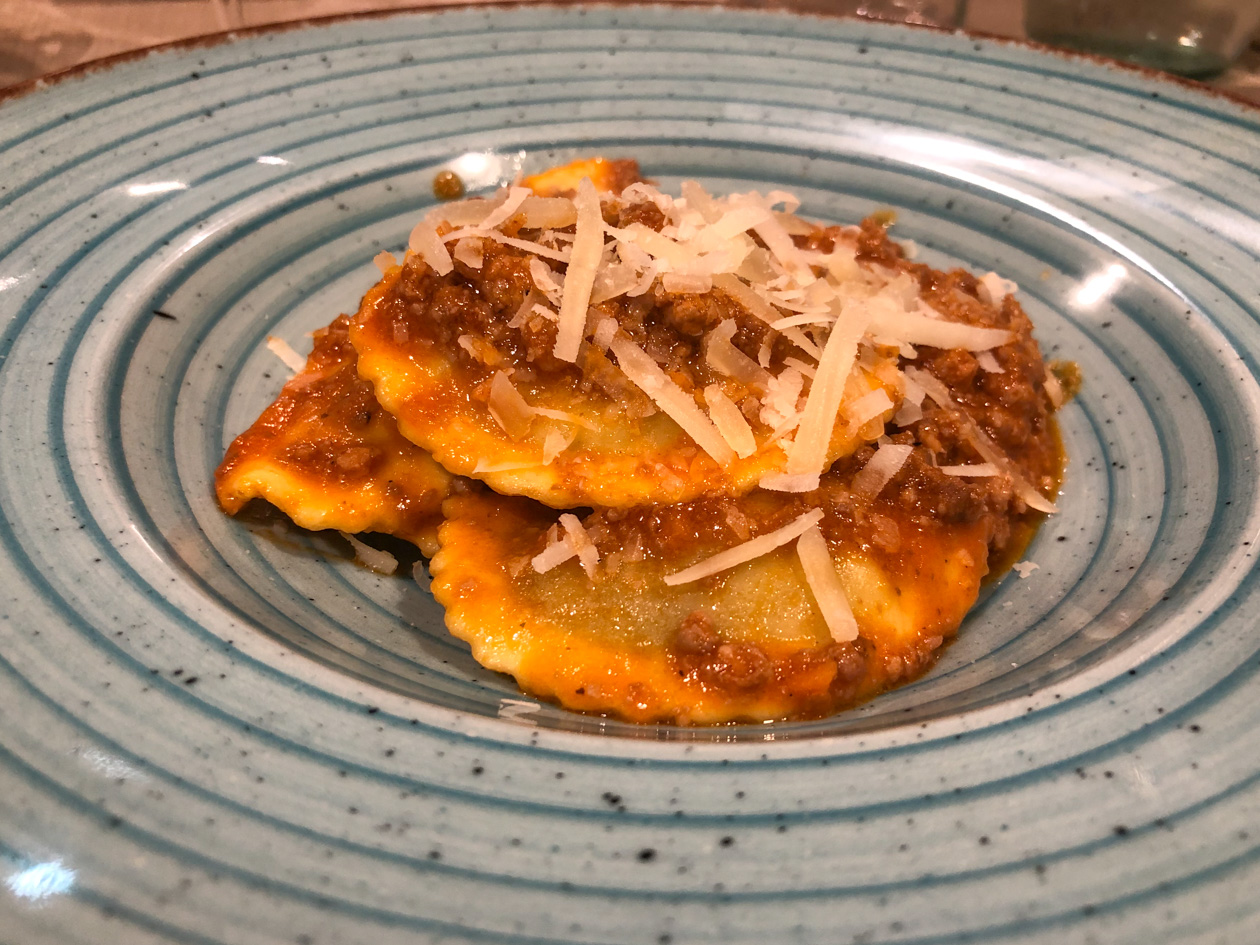 Tortelli Toscani con il ragú