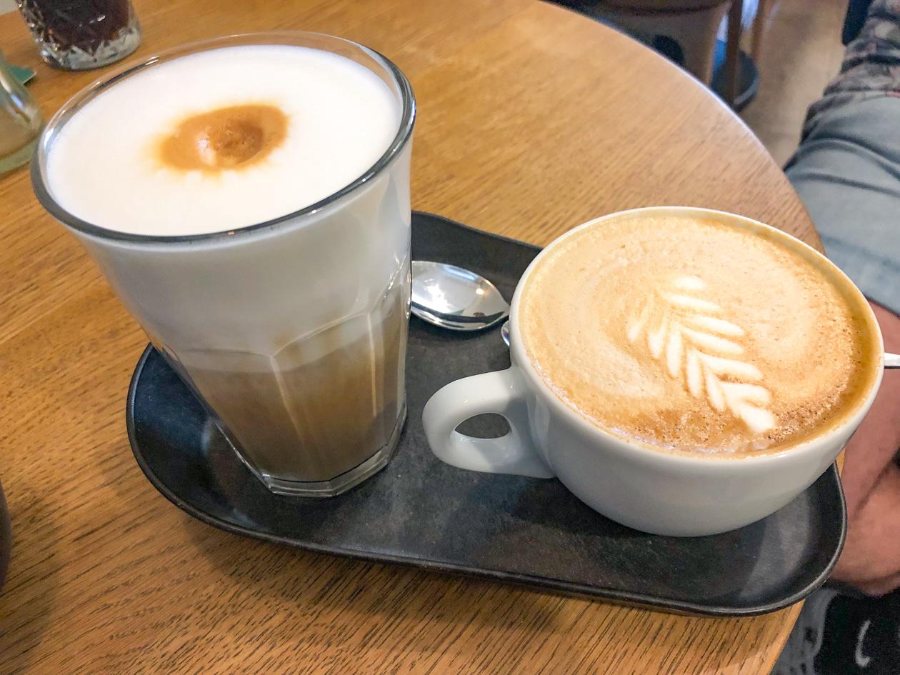 koffie bij Maling