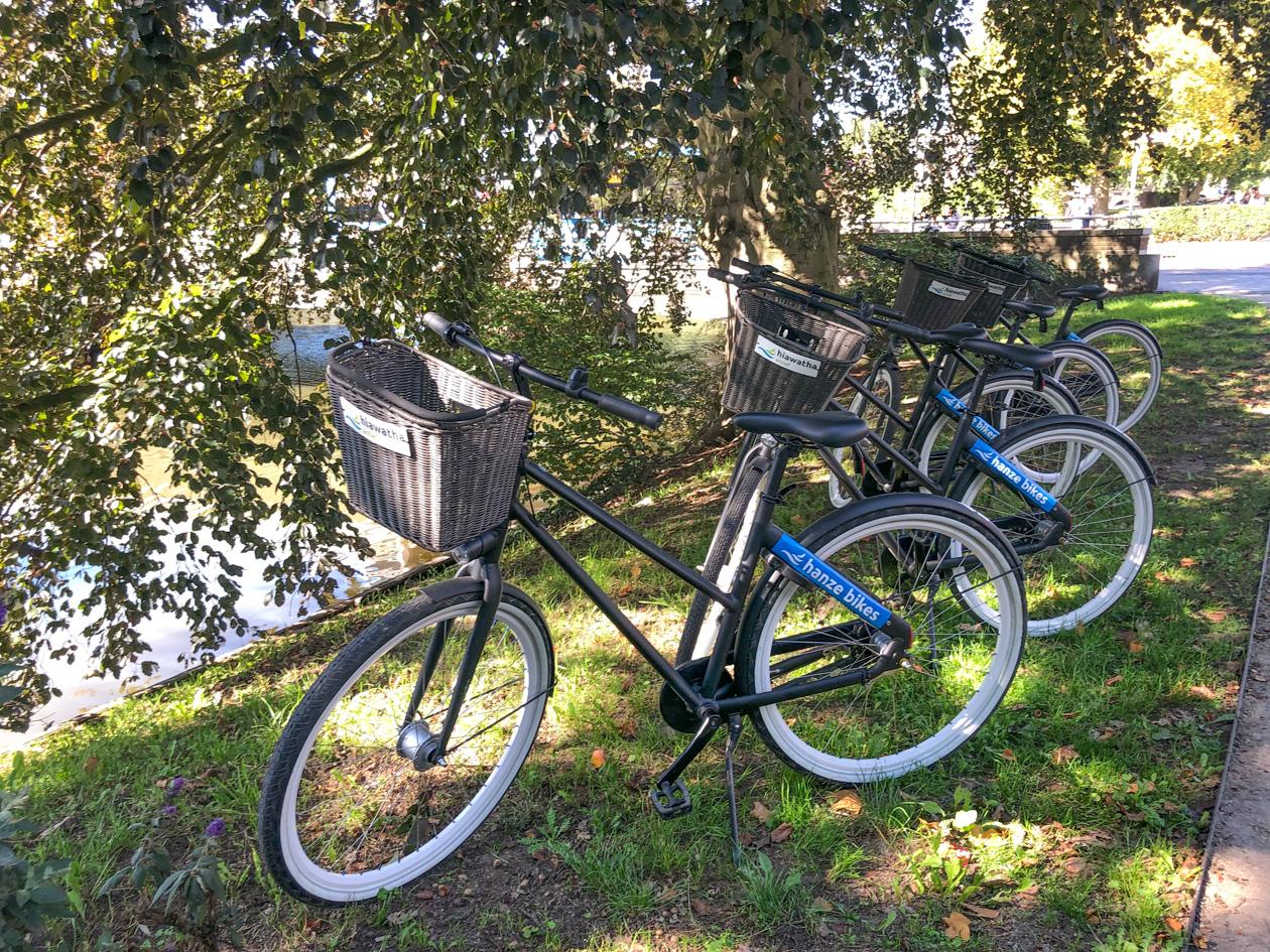 fietstocht in Zwolle