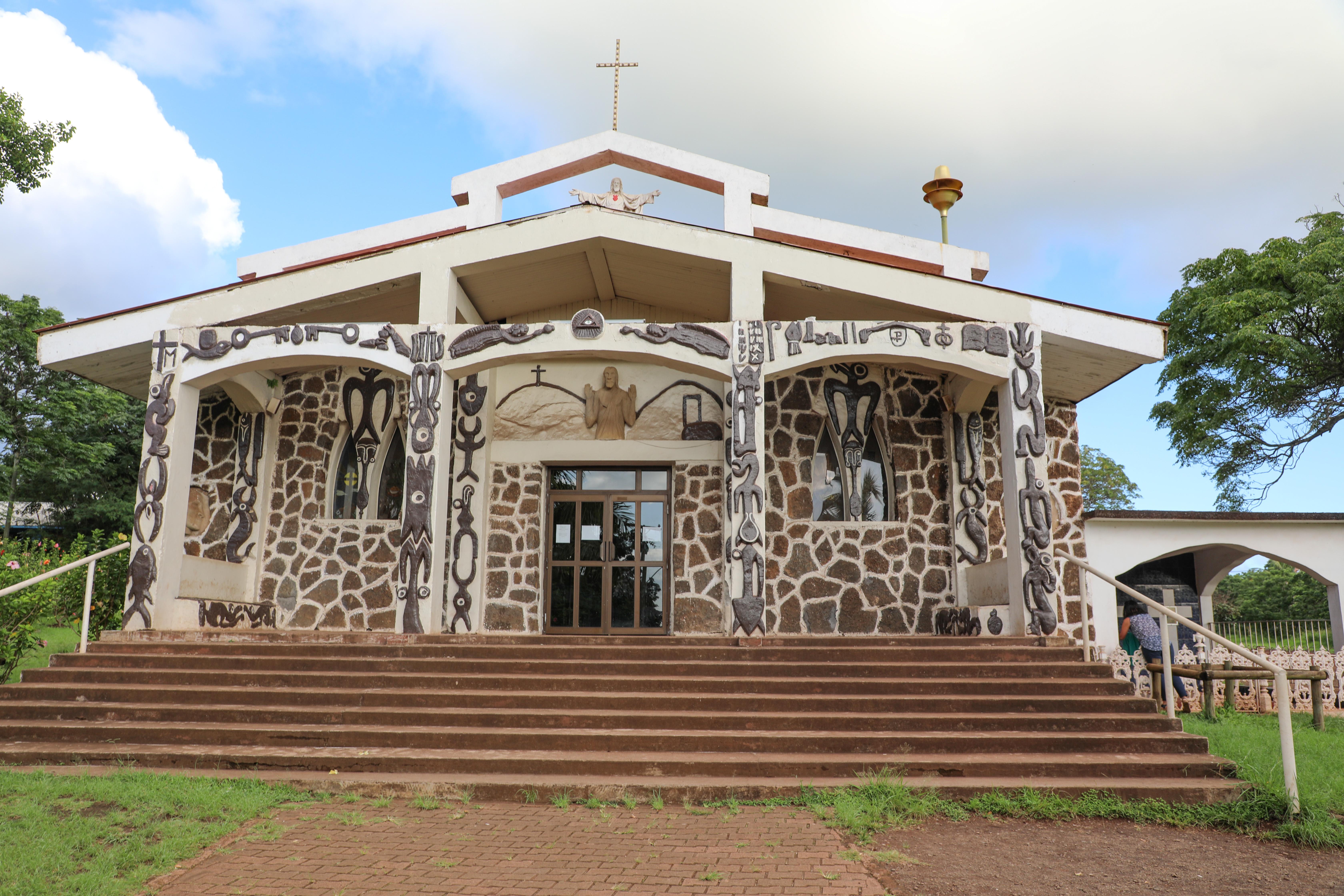 de enige kerk op Paaseiland