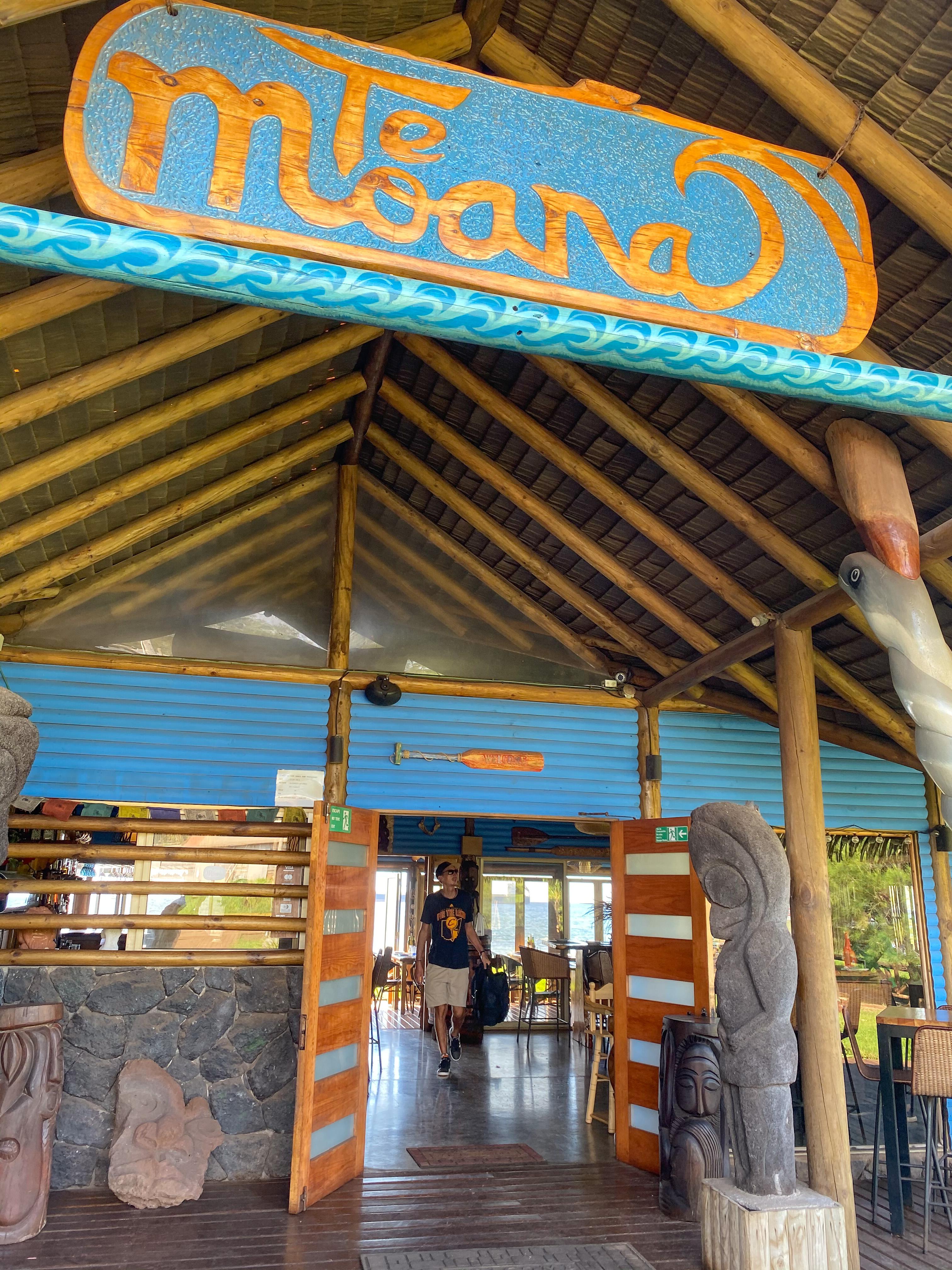 eten bij Te Moana