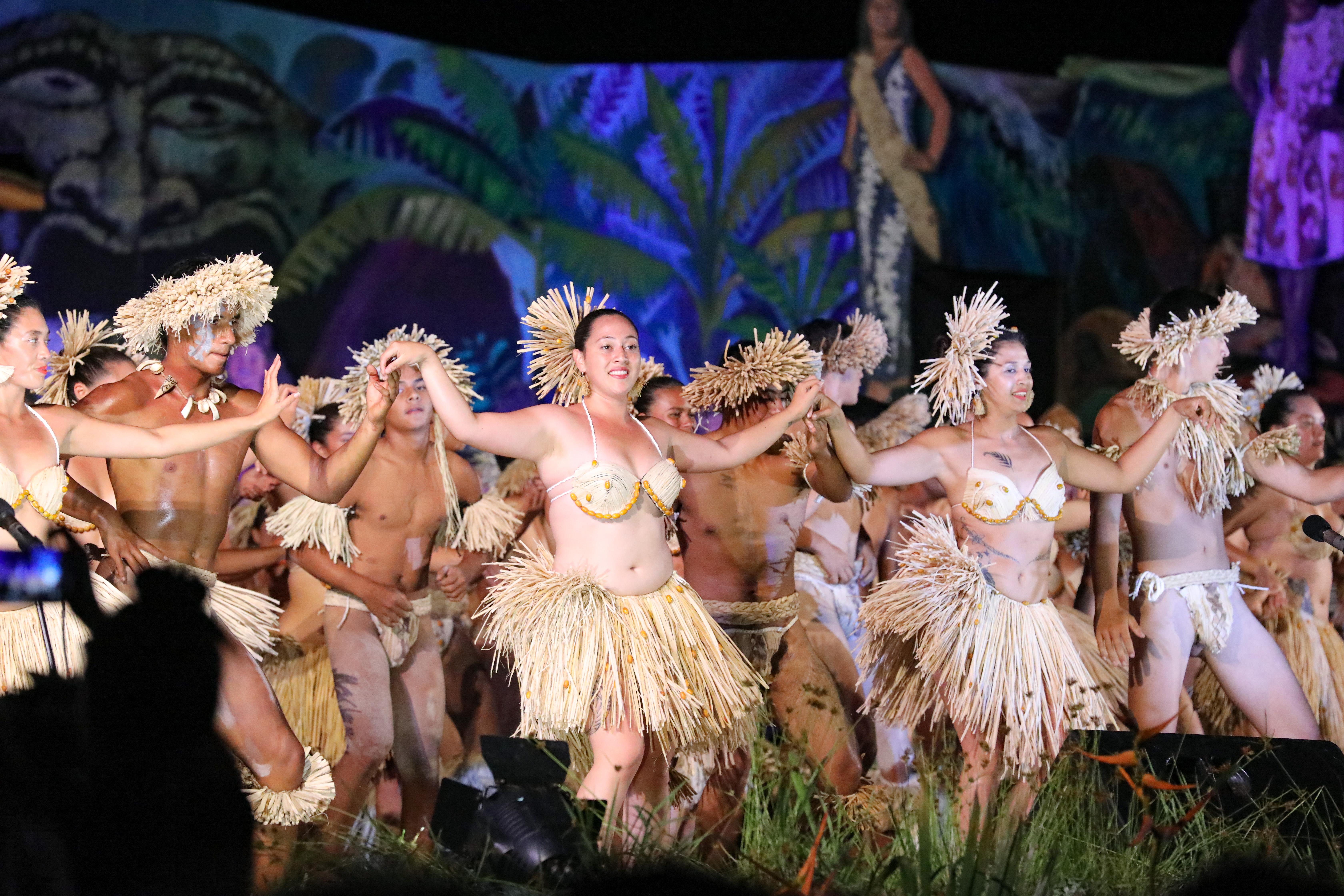dans tijdens Tapati