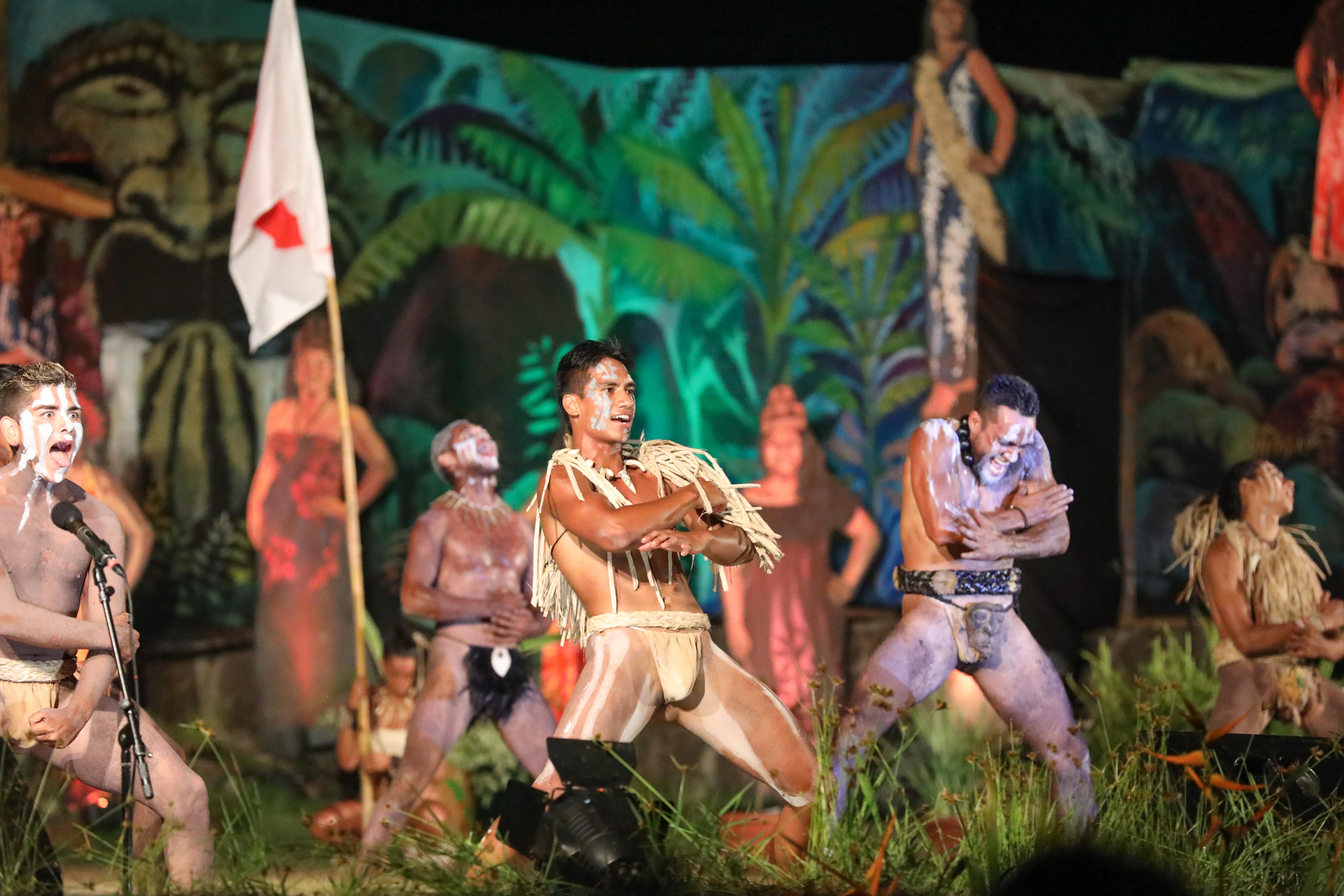 haka tijdens Tapati