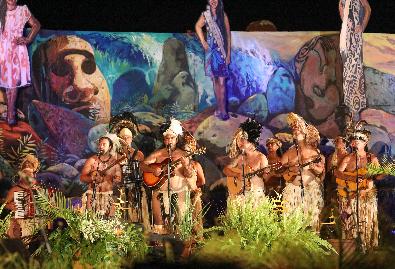 muziek tijdens Tapati