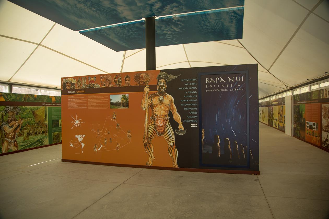 Rapa Nui expositie