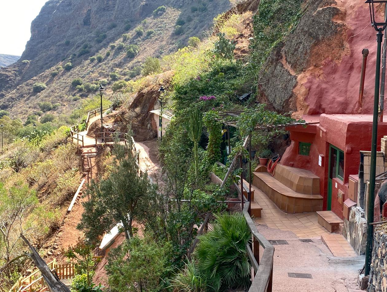 woningen in Barranco de Guayadeque