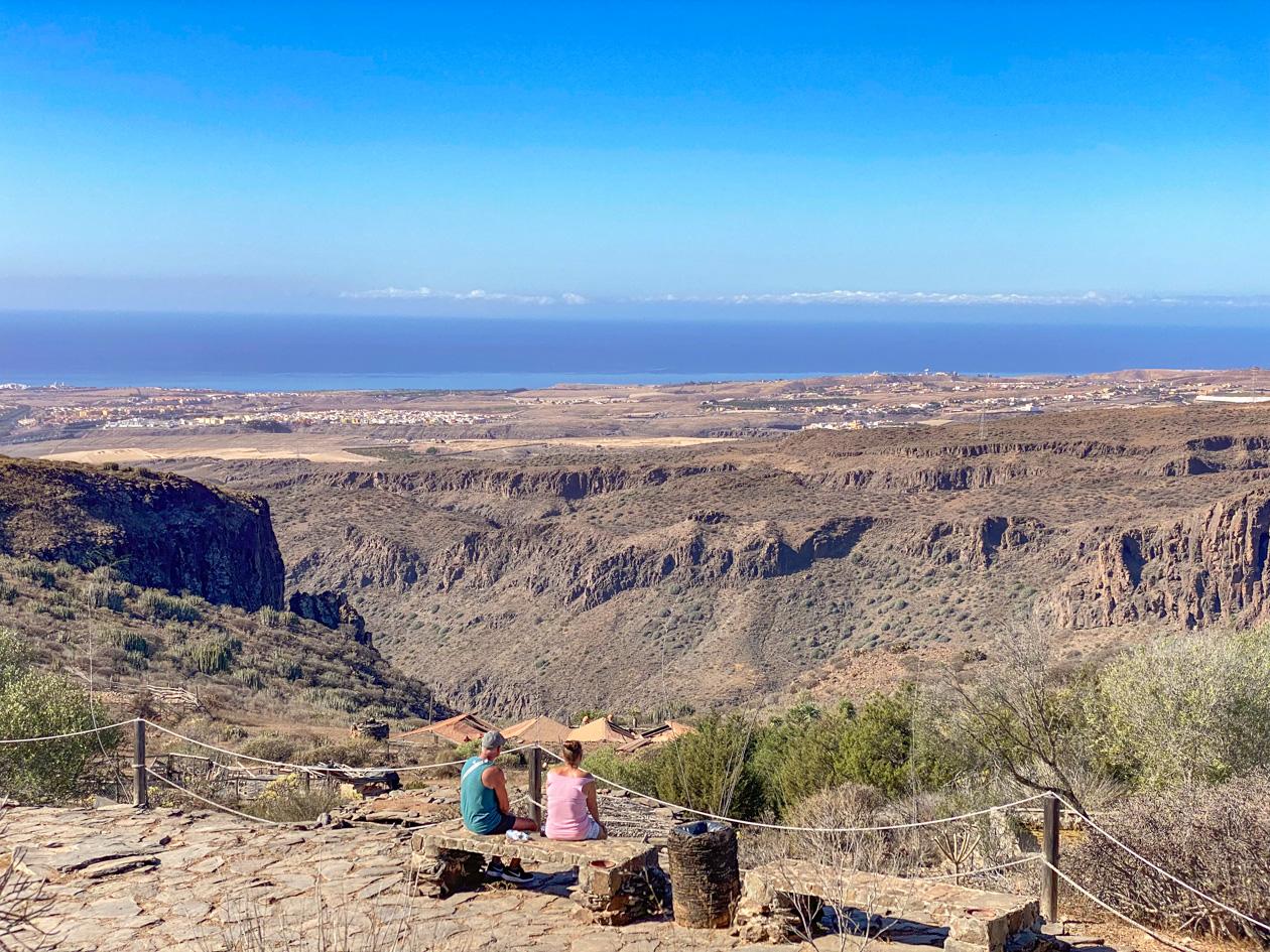 uitzicht vanaf Mundo Aborigen